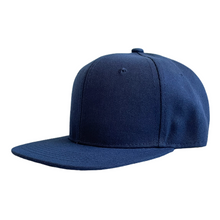 Load image into Gallery viewer, Navy Junior Snapback - Plain and Personalised