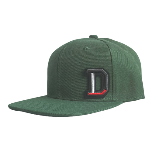 Bottle Green Infant Snapback - Plain and Personalised