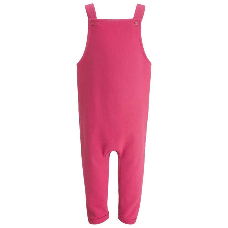 Childrens Pink Dungarees - The Monkey Box Dungerees