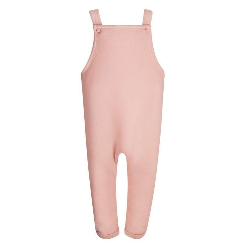 Dusty Pink Dungarees - The Monkey Box