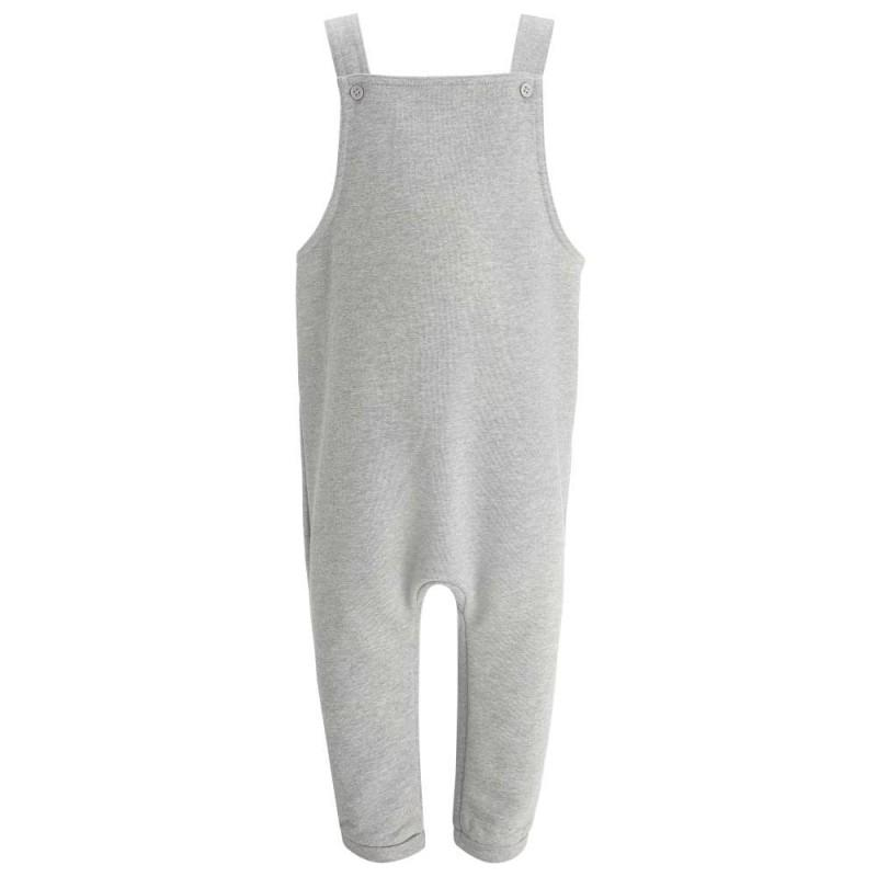 Childrens Grey Dungarees - The Monkey Box
