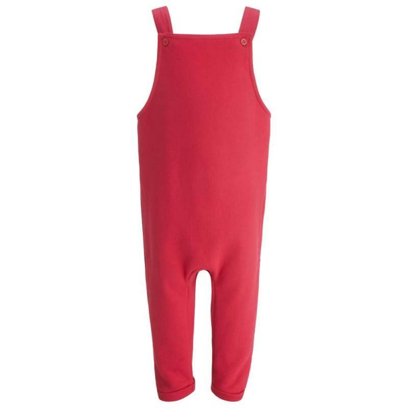Childrens Red Dungarees