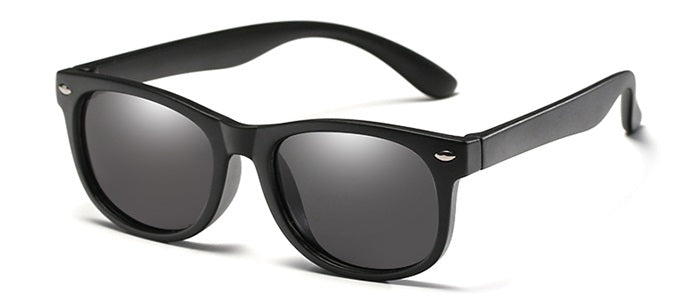Black Wayfarer Style Childrens sunglasses