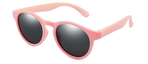 Kids Retro Sunglasses - Pink