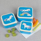 Load image into Gallery viewer, Unicorn Snack Boxes - (Set of 3)