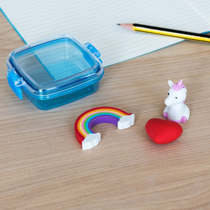 Unicorn Mini Eraser Set