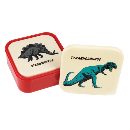 Dinosaur Snack Boxes (Set of 3)