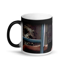 Load image into Gallery viewer, Dr. Ian Malcolm Meme Surprise Jurassic Park Black Magic Mug