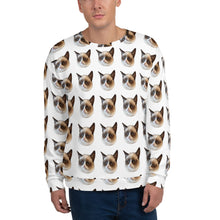 Load image into Gallery viewer, Grumpy Cat All Over Men's Sweater