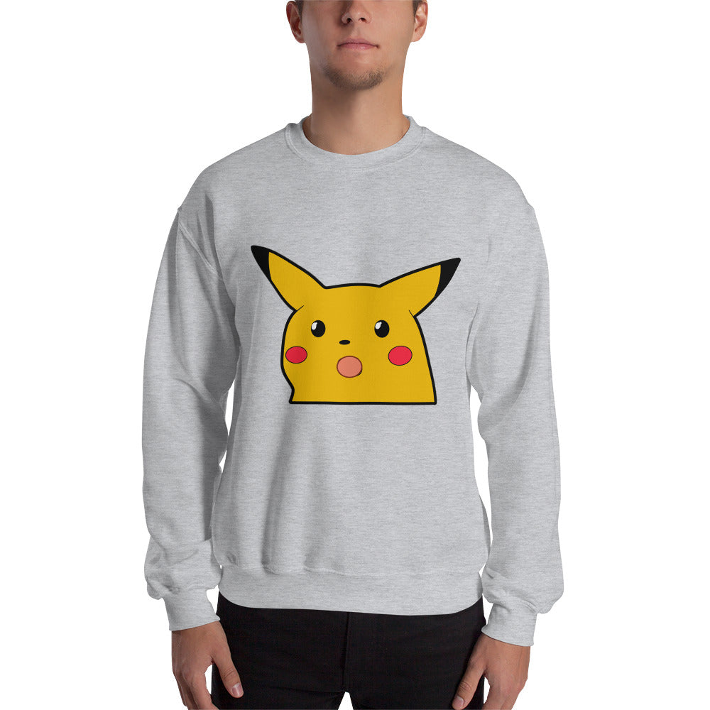 Surprised Pikachu Sweatshirt