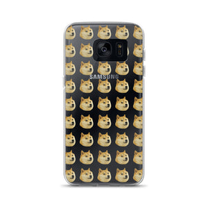 Doge All Over Android Case