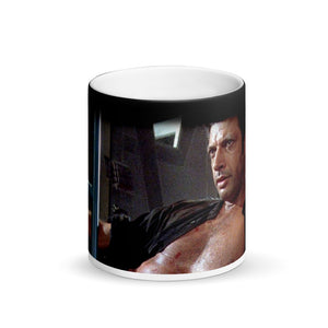 Dr. Ian Malcolm Meme Surprise Jurassic Park Black Magic Mug