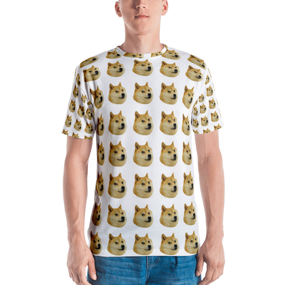 Doge All Over Men's T-shirt