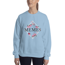 Load image into Gallery viewer, Memes Floral Sweatshirt