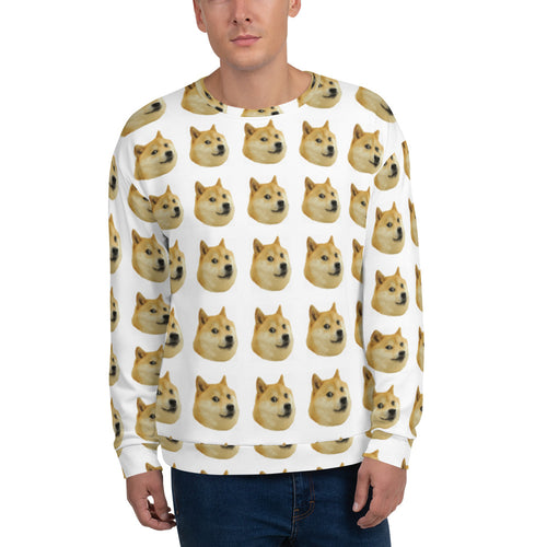 Doge All Over Men's Sweater