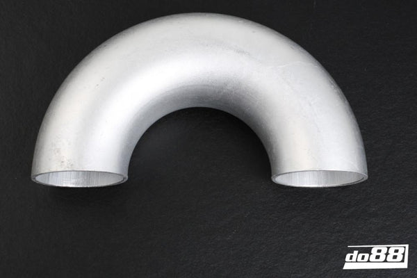 Aluminum pipe 180 degree 60x3 mm, short radius-A3B180G60-NordicSpeed