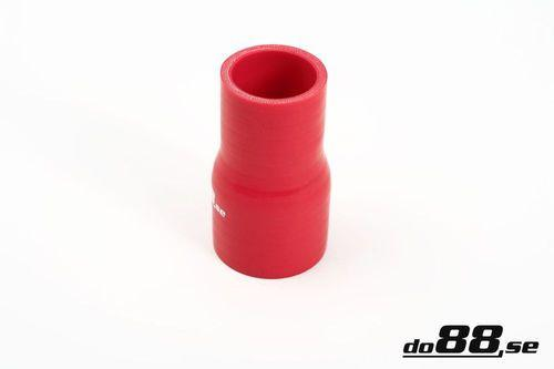 Silicone Hose Red Reducer 2 - 2,25'' (51-57mm)-RR51-57-NordicSpeed