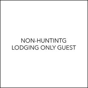 NON-HUNTING GUEST