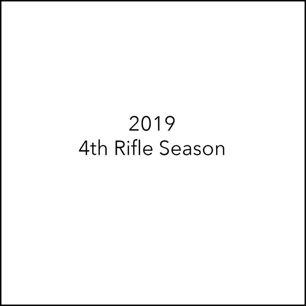 4th Rifle Elk Hunt | Nov 13-Nov 18
