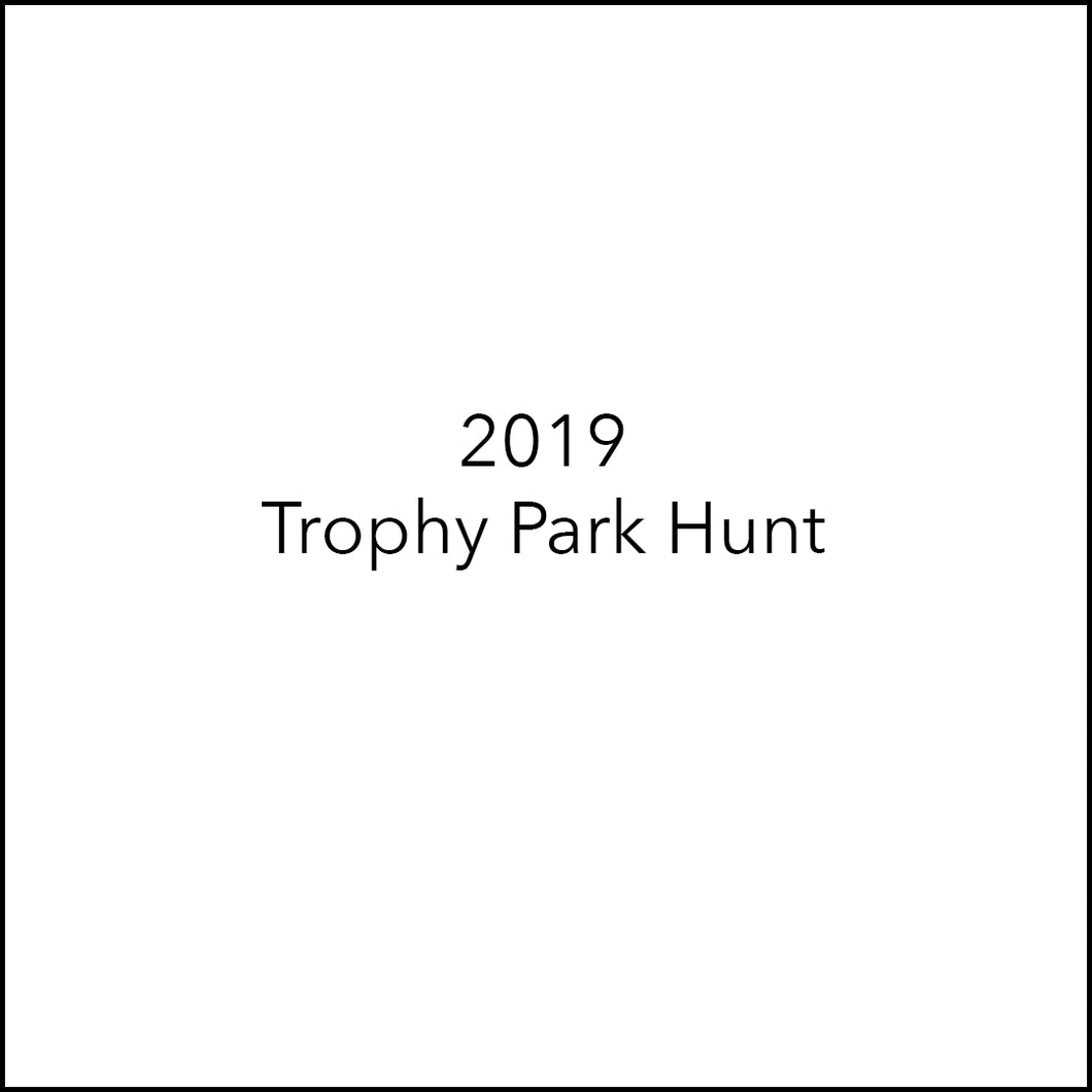 Trophy Park Elk Hunt | Oct 2-Oct 7