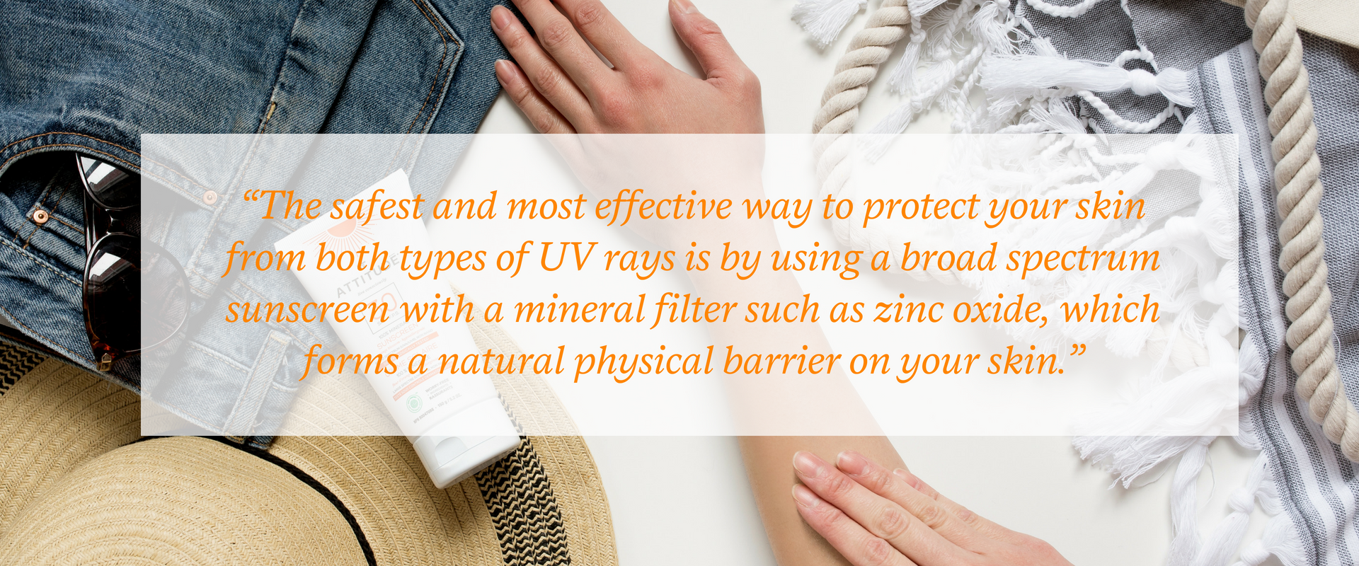Protection against UVAs and UVBs