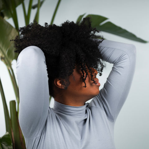 Styling tips for natural curly coily hair