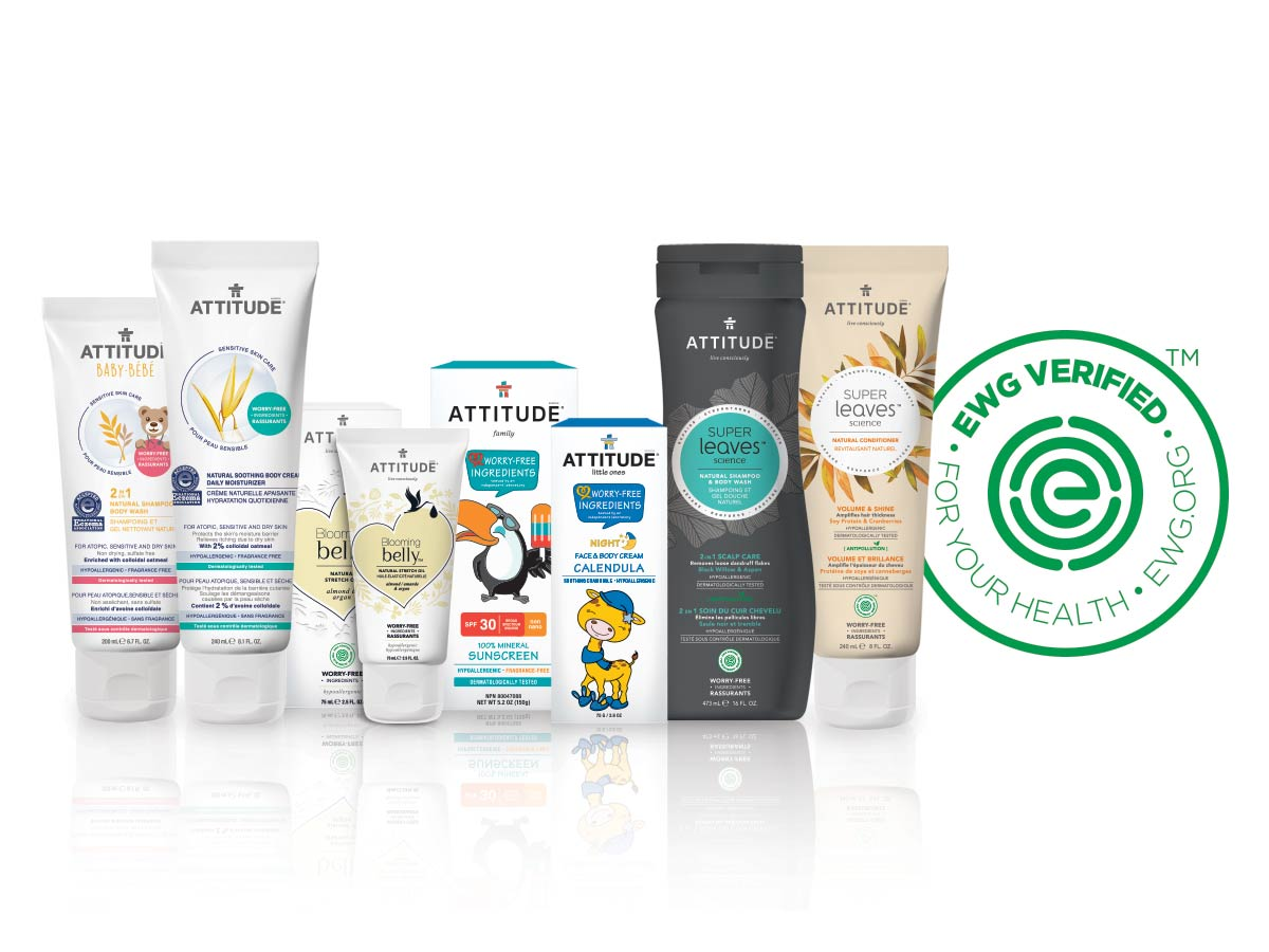 EWG VERIFIED ATTITUDE body care