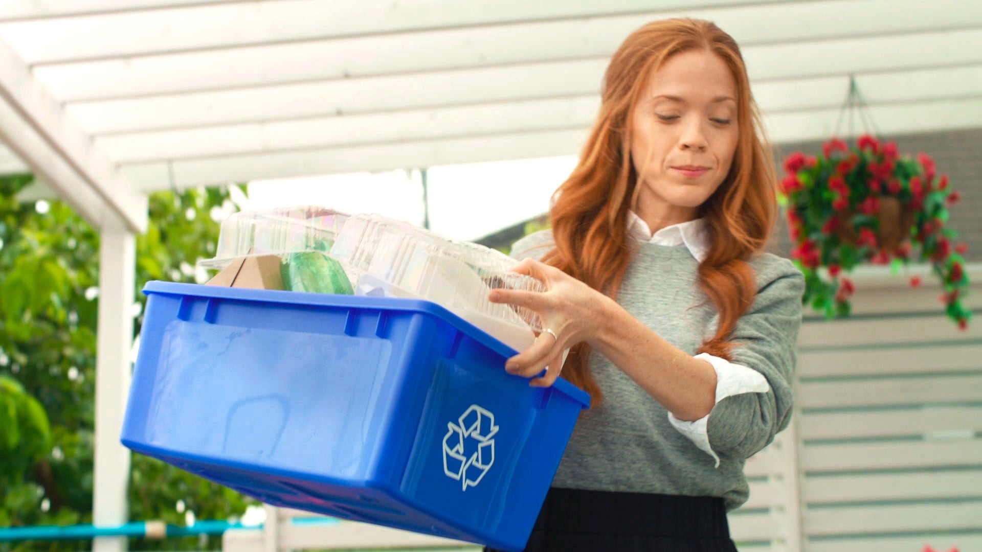 Recycling tips for the super mom