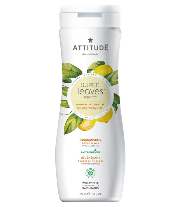 11292 ATTITUDE Super Leaves™ - Hypoallergenic Shower Gel - Regenerating - EWG Verified  _en?_main?