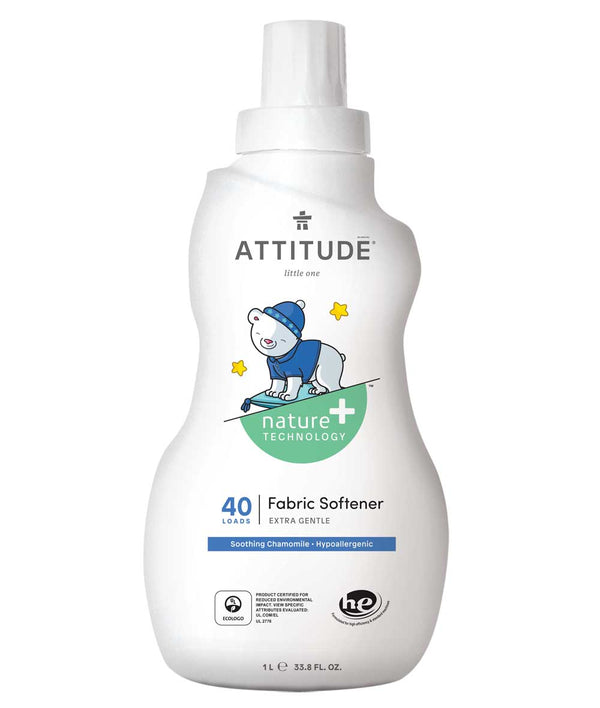 12149 ATTITUDE Natural Fabric Softener for babies and kids - Hypoallergenic - Soothing chamomile _en?_main?
