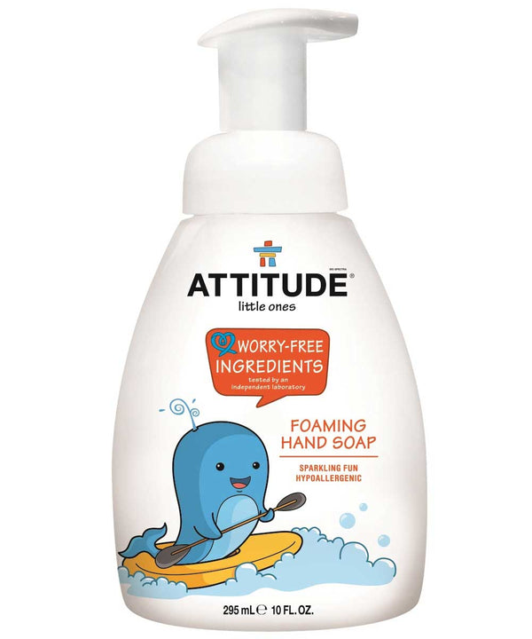 14009 ATTITUDE Foaming Hand Soap For Kids - Hypoallergenic - Sparkling Fun_en?_main?