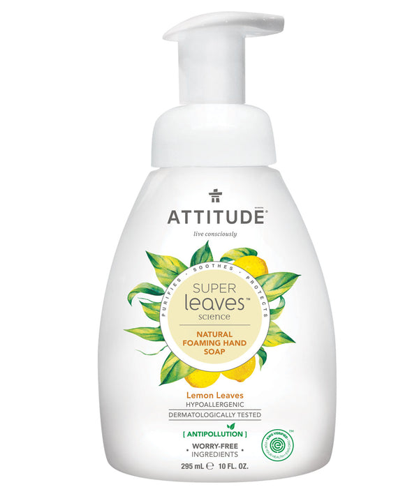 14082 ATTITUDE - Super Leaves™ - Foaming Hand Soap - Plant-based - Lemon Leaves _en?_main?