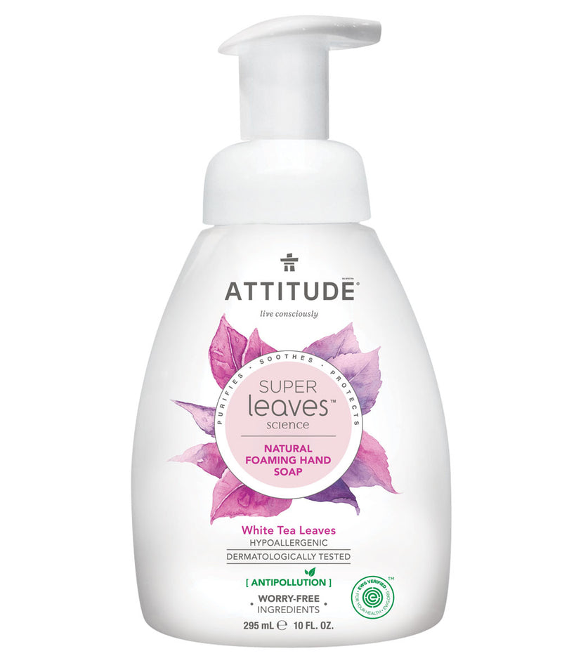 14087 ATTITUDE - Super Leaves™ - Foaming Hand Soap - Plant-based - White Tea Leaves  _en?_main?