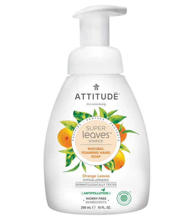 14088 ATTITUDE - Super Leaves™ - Foaming Hand Soap - Plant-based - Orange Leaves _en?_main?