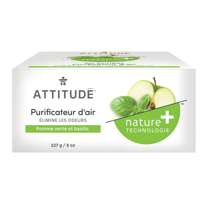 15224 ATTITUDE Purificateur d'air naturel - Pomme verte et basilic _fr?_main?