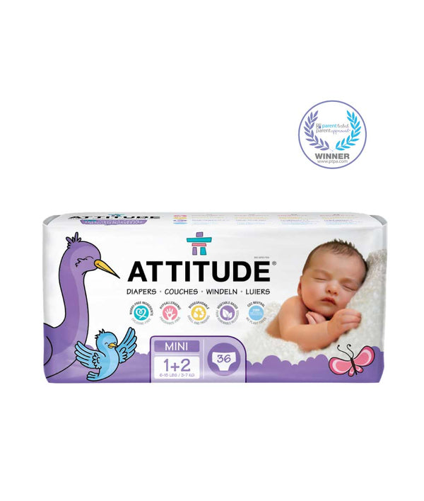 16200 ATTITUDE Biodegradable Diapers (size 1+2, 6-15 lbs) Eco-friendly & Disposable  _en?_main?