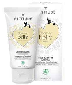 18111 ATTITUDE Blooming Belly™ - Soin vergetures naturel pour femme enceinte - Amande argan _fr?_main?