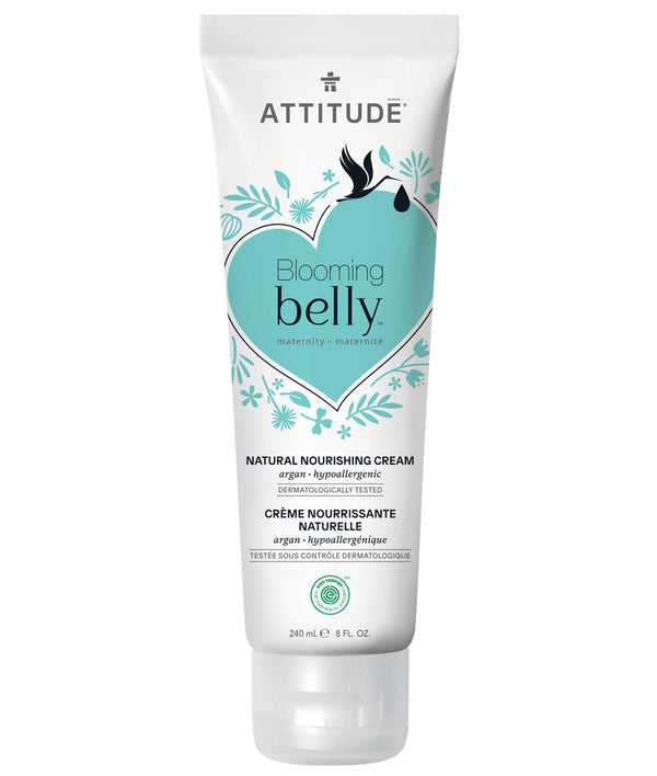 18120 ATTITUDE Blooming Belly™ - Pregnancy Body Cream - EWG Verified - Argan  _en?_main?