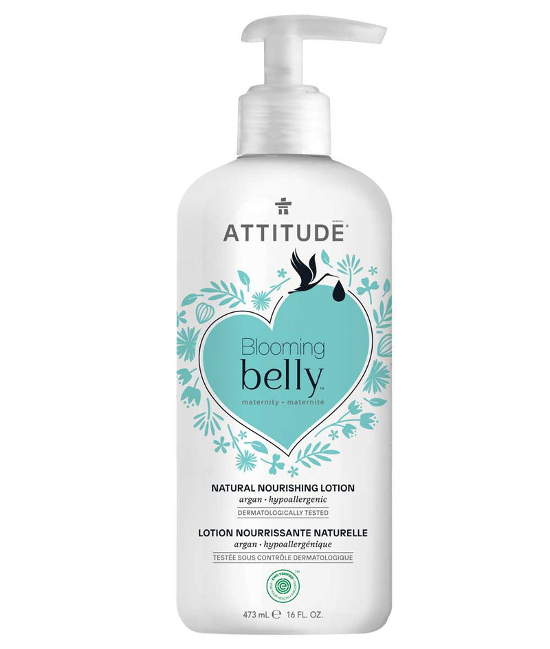18121 ATTITUDE Blooming Belly™ - Pregnancy Body Cream - EWG Verified - Argan   _en?_main?