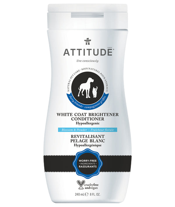 White Coat Brightener Conditioner - Blossom & Powder I ATTITUDE_en?_main?