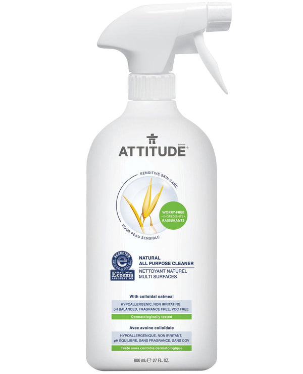 60018 ATTITUDE Eczema-friendly All Purpose Cleaner - Fragrance-free _en?_main?