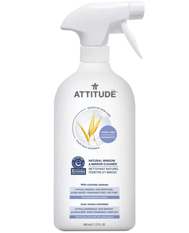 60028 ATTITUDE Eczema-friendly Window & Mirror Cleaner - Fragrance-free _en?_main?