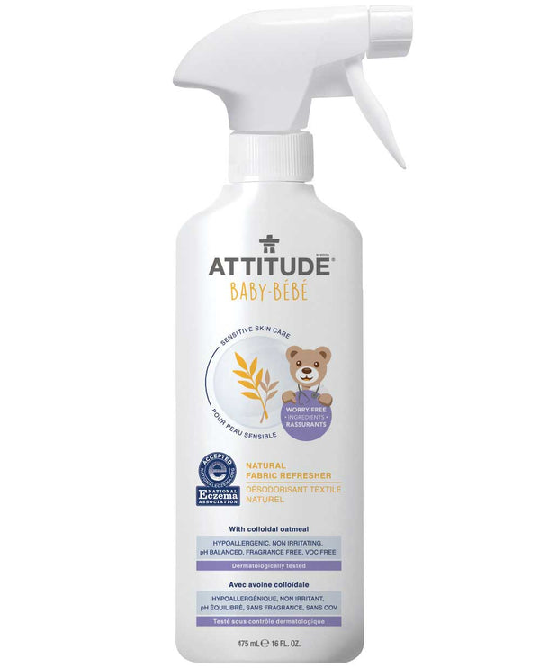60269 ATTITUDE Eczema-Friendly Baby Fabric Refresher - Fragrance-free  _en?_main?
