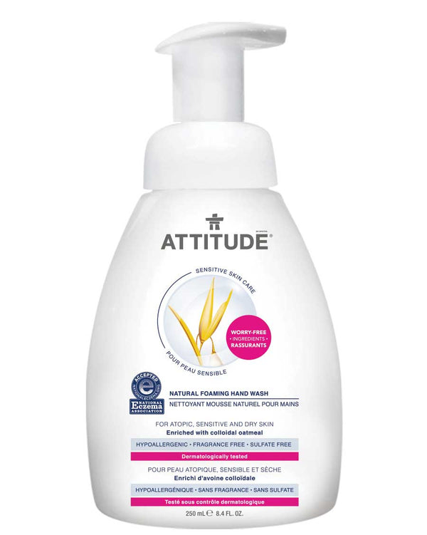 60409 ATTITUDE Eczema-Friendly Foaming Hand Soap - Fragrance-free _en?_main?