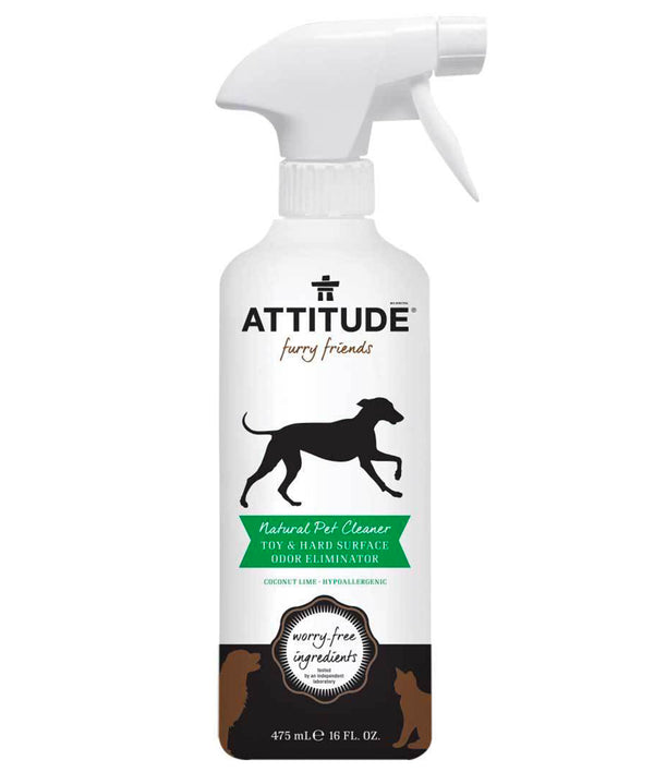 80100 ATTITUDE - Furry Friends™ - Toy & Hard Surface Cleaner For Pets - Coco Lime  _en?_main?