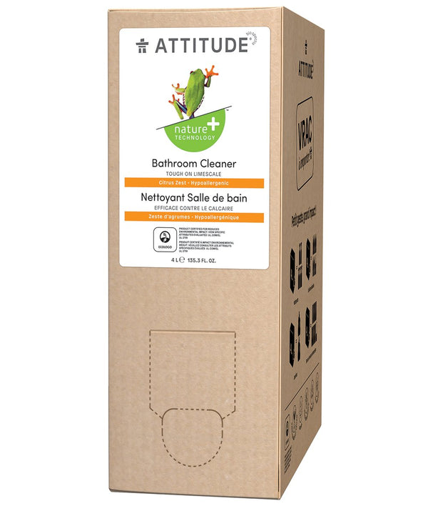 80480 ATTITUDE Bulk To Go Bathroom Cleaner - 4 L Format - Citrus Zest  _en?_main?
