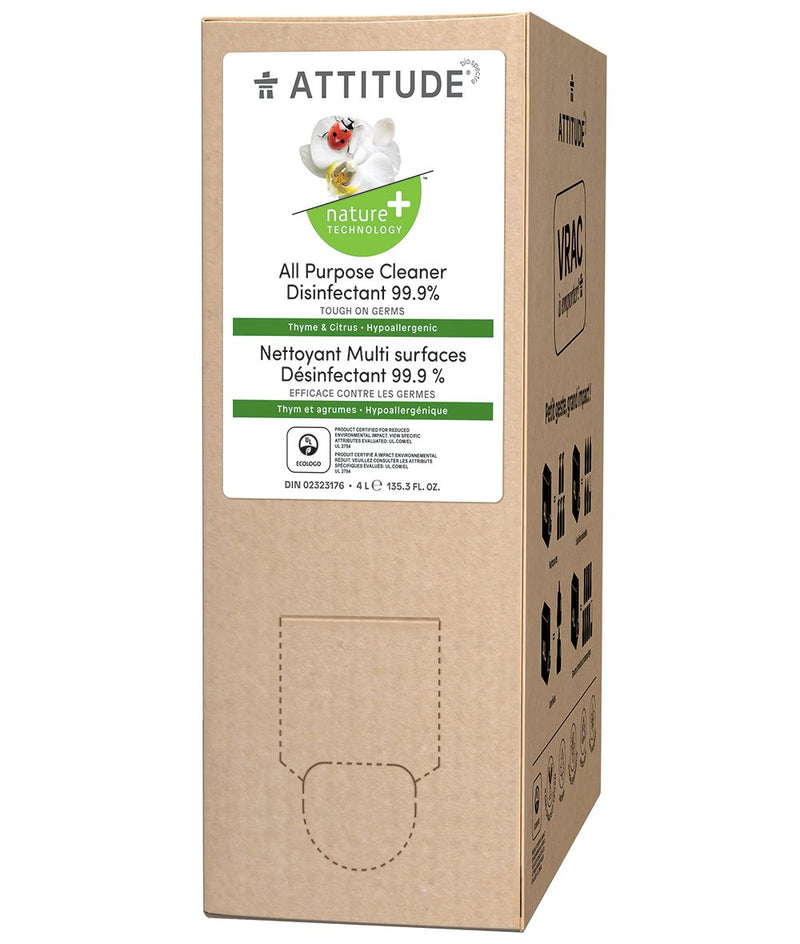 80910 ATTITUDE Bulk To Go Multi Purpose Cleaner - Disinfectant 99.9% _en?_main?
