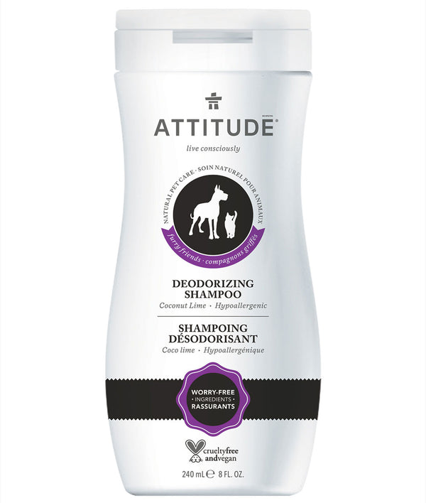 81051 ATTITUDE - Furry Friends™ - Deodorizing Shampoo For Pets - Coco Lime  _en?_main?