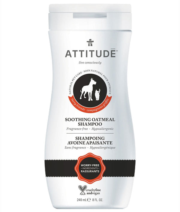 81053 ATTITUDE - Furry Friends™ - Soothing Shampoo For Pets - Fragrance-free  _en?_main?