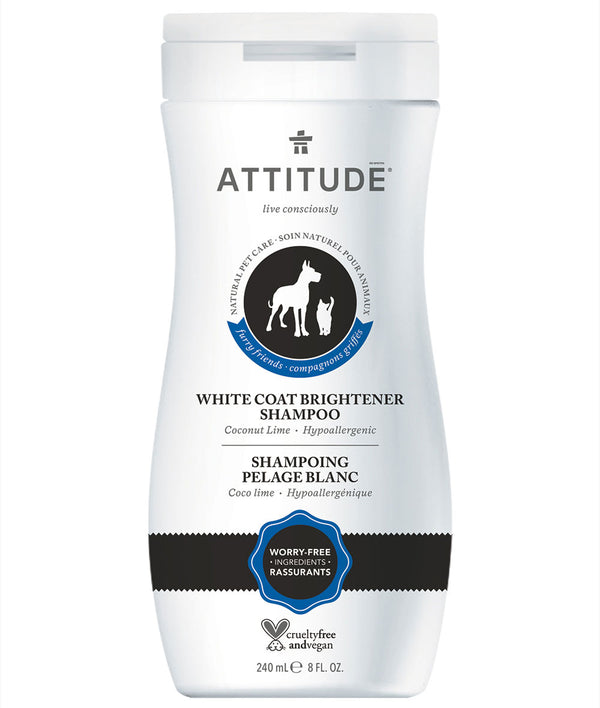 81054 ATTITUDE Furry Friends™ - Shampooing pour animaux - Pelage blanc - Coco lime  _fr?_main?